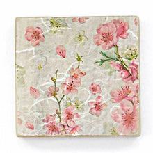 Load image into Gallery viewer, Pink Blossom Wooden Coasters