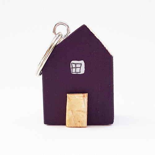 Keychain Wooden House Key Ring for Women New House Key Chain
