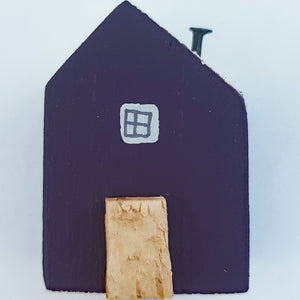 Purple Wooden Mini House