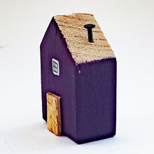 Load image into Gallery viewer, Wooden Mini House Tiny House Decor
