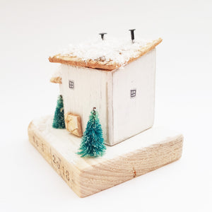 Wooden House Personalised Christmas Decoration Unique Christmas Gifts New Home Christmas Ornament