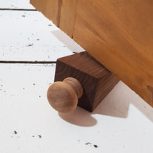 Load image into Gallery viewer, Rustic Natural Wood Door Stop