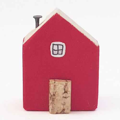 Wooden Fridge Magnet Magnets for Board Tiny House - Painted in a colour of your choice