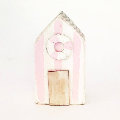 Wood Magnet Beach Hut