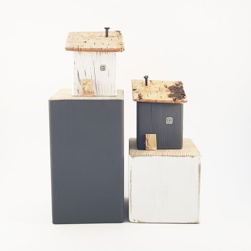 Rustic Modern Bookends Library Decor