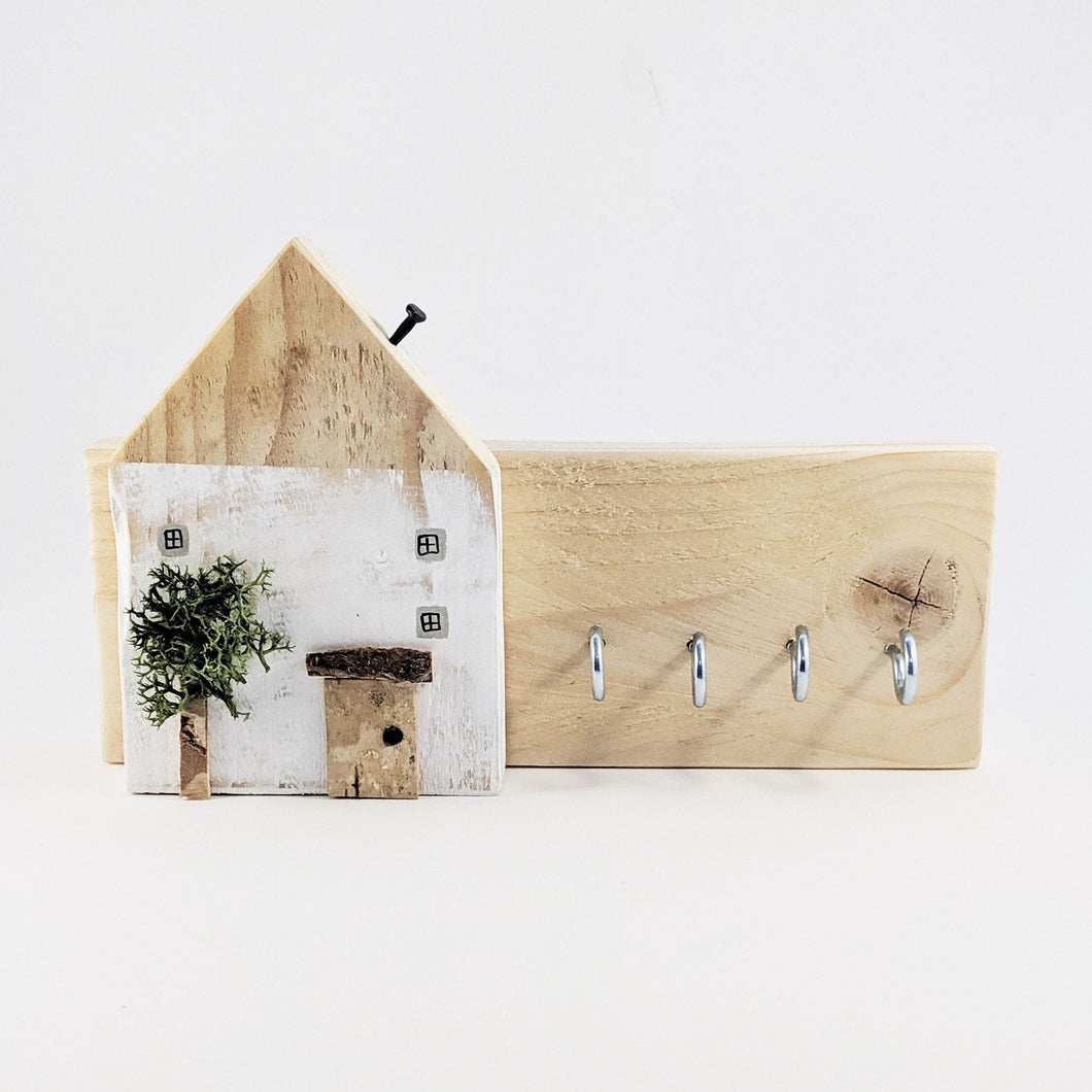 Rustic Key Holder for Wall