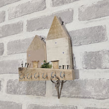 Load image into Gallery viewer, Key Holder For Wall Rustic Hall Decor