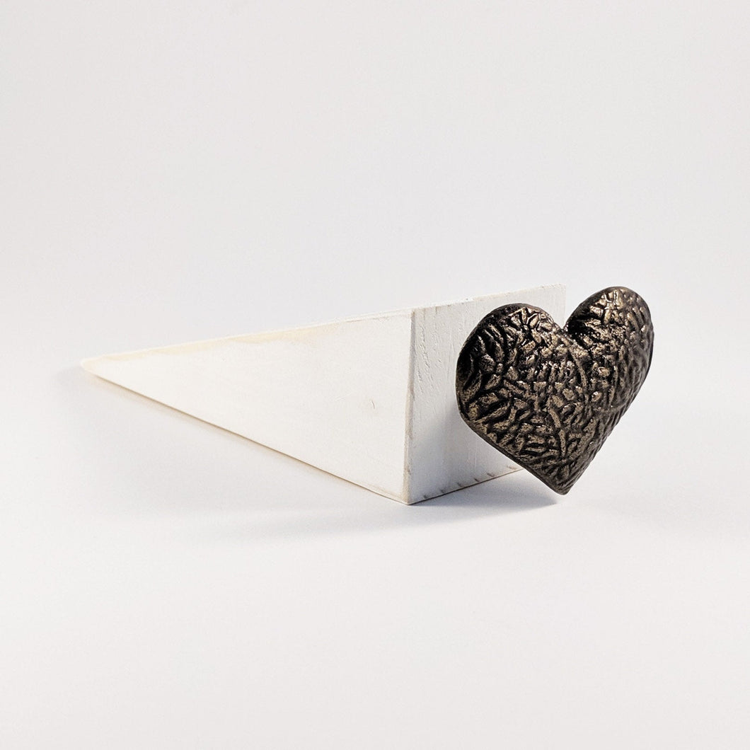 Door Stop with Rustic Heart Home Accessories