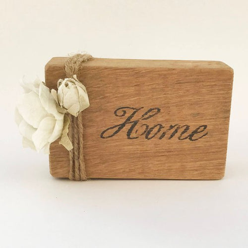 Wooden Word Block
