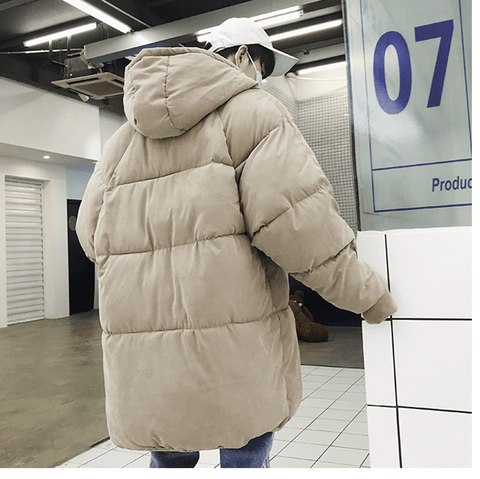 Winter Long simple Parka