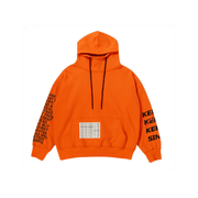 Oversized Street style high neck hoodie - shine