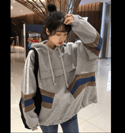 Oversize fleece hoodies