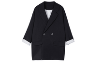 Suit Jacket  Navy Simple Design - shine