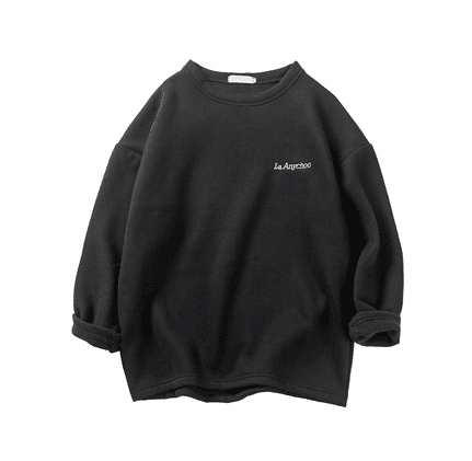 A/W Korean long-sleeved plus fleeces T-shirt
