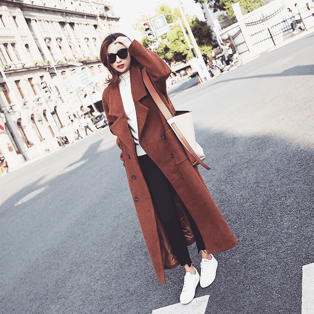 Caramel color Long coat