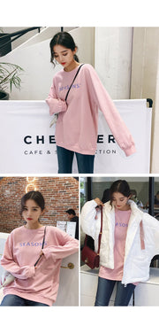 2018 autumn new Korean loose cotton fashion long-sleeved sweatshirts