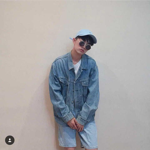 Classic retro denim jacket