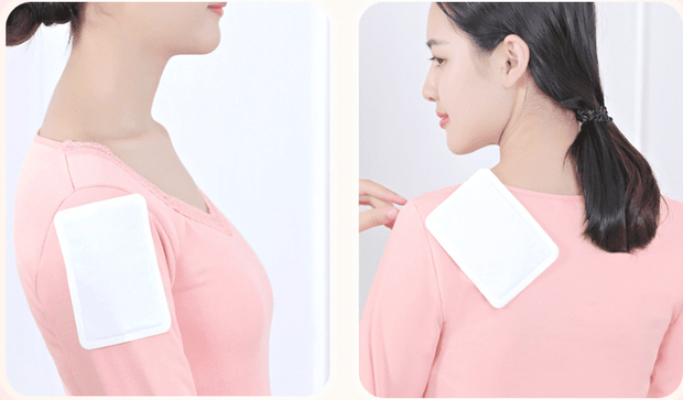 Attachable hand and body warmer &  Menstrual pain Therapy