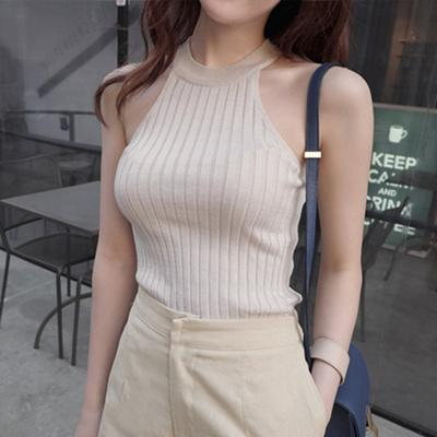 Sexy Cropped Tops Women Clothes Off Shoulder Tank Top - shine