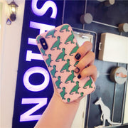 Cute Dinosaur Patterned Phone Case