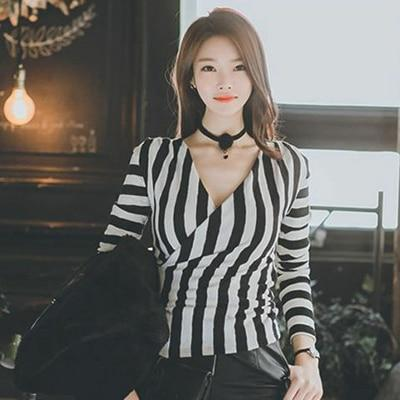 Sexy Long Sleeve Blouses - shine