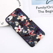 Flower Leaf Print Phone Case