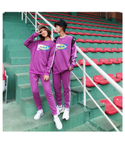 "Men Women 2 Piece Set Tracksuits ""Nikea"". - shine"