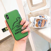 Green Dinosaur Animal Phone Case