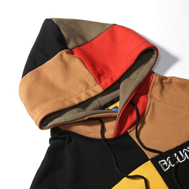 Splice Hoodies Cotton Street Hoodies