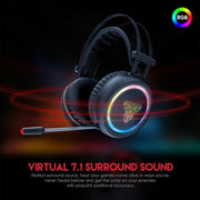 Pro Gaming Headset Fantech Hg15 7.1 Channel Rgb Gaming Headset