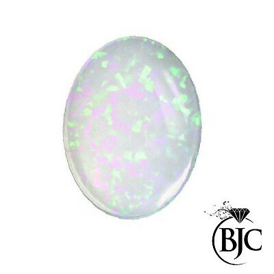 BJC® Loose Natural Opal Oval Cut Cabochon Cut Multiple Mined Opals Stones