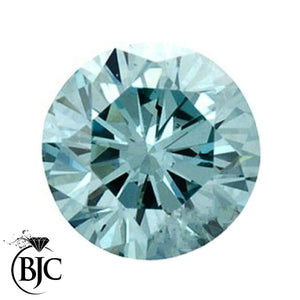 BJC® Loose Natural Round Brilliant Cut Blue Topaz 100% Natural 2.75mm - 7mm