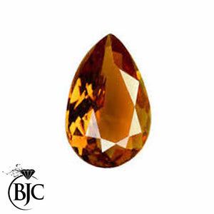 Natural Pear Cut Mined Golden Orange Tourmaline Loose AAA+ Quality Cut