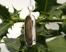 Load image into Gallery viewer, BJC® Sterling Silver Black Agate Druzy Druzzy Geode Quartz Pendant & Necklace DP26