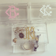Load image into Gallery viewer, Personalized Acrylic Jewelry Box