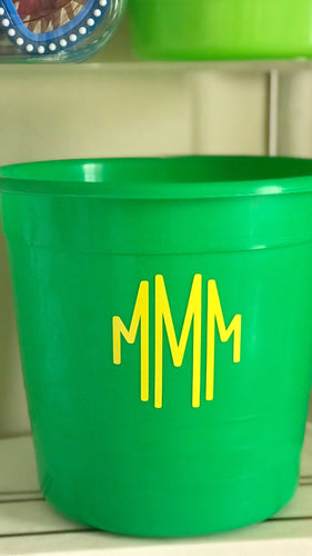 Green Beach Pail