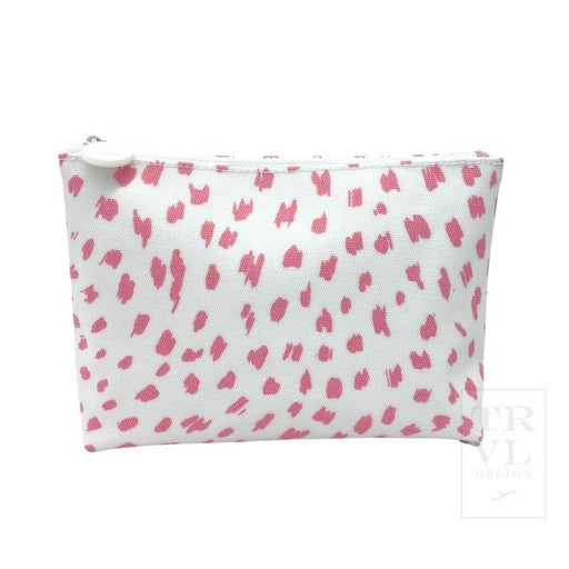 Pink Spot On Cosmetic Bag