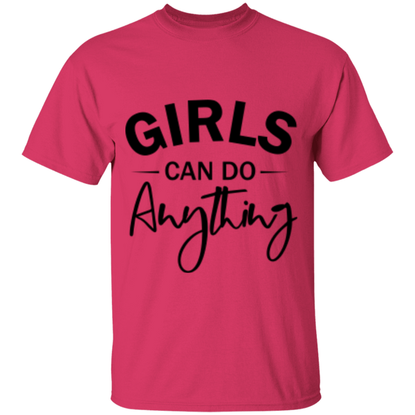 Girls Can Do Anything T-Shirt - Feminist Shirt | Dolls Does Collective