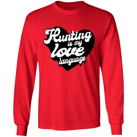 Love Language Graphic Long Sleeve Tee