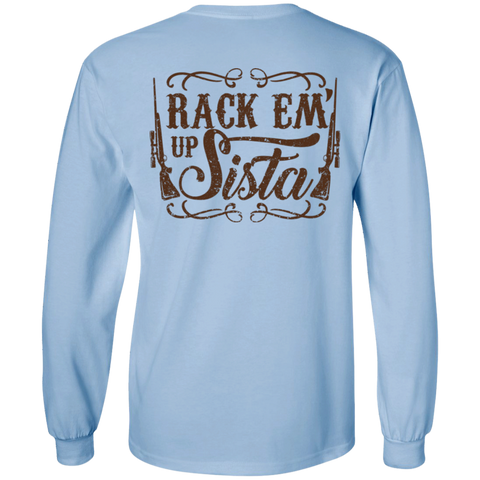 Rack'em Up Sista Unisex Long Sleeve Tee