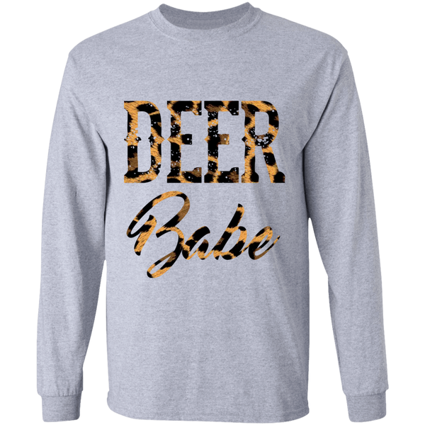Deer Babe Long Sleeve T-Shirt - Long Sleeve T-Shirt | Dolls + Does