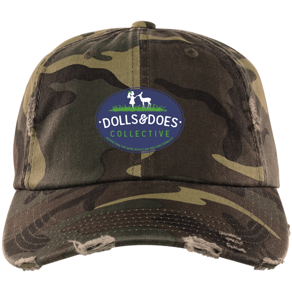 Dolls & Does Signature  Distressed Trucker Cap