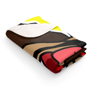 Mr. Heatcam Sherpa Fleece Blanket