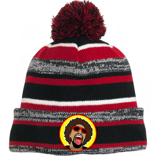 Mr.Heatcam Striped Beanie