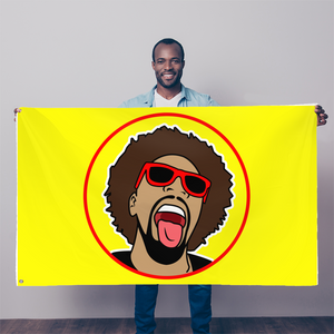 Mr.Heatcam (Vintage) Sublimation Flag