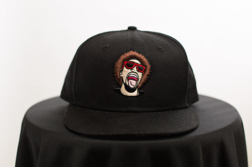 The Mr.Heatcam Black New Era Snapback