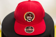 Load image into Gallery viewer, The Mr.Heatcam Red Mesh New Era Snapback (Vintage Logo)
