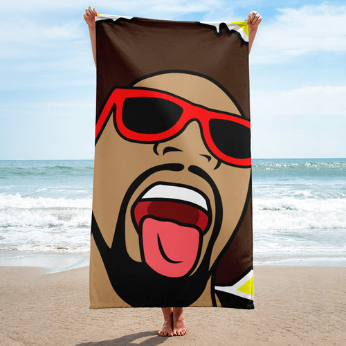 The Mr. Heatcam Bath and Beach Towel