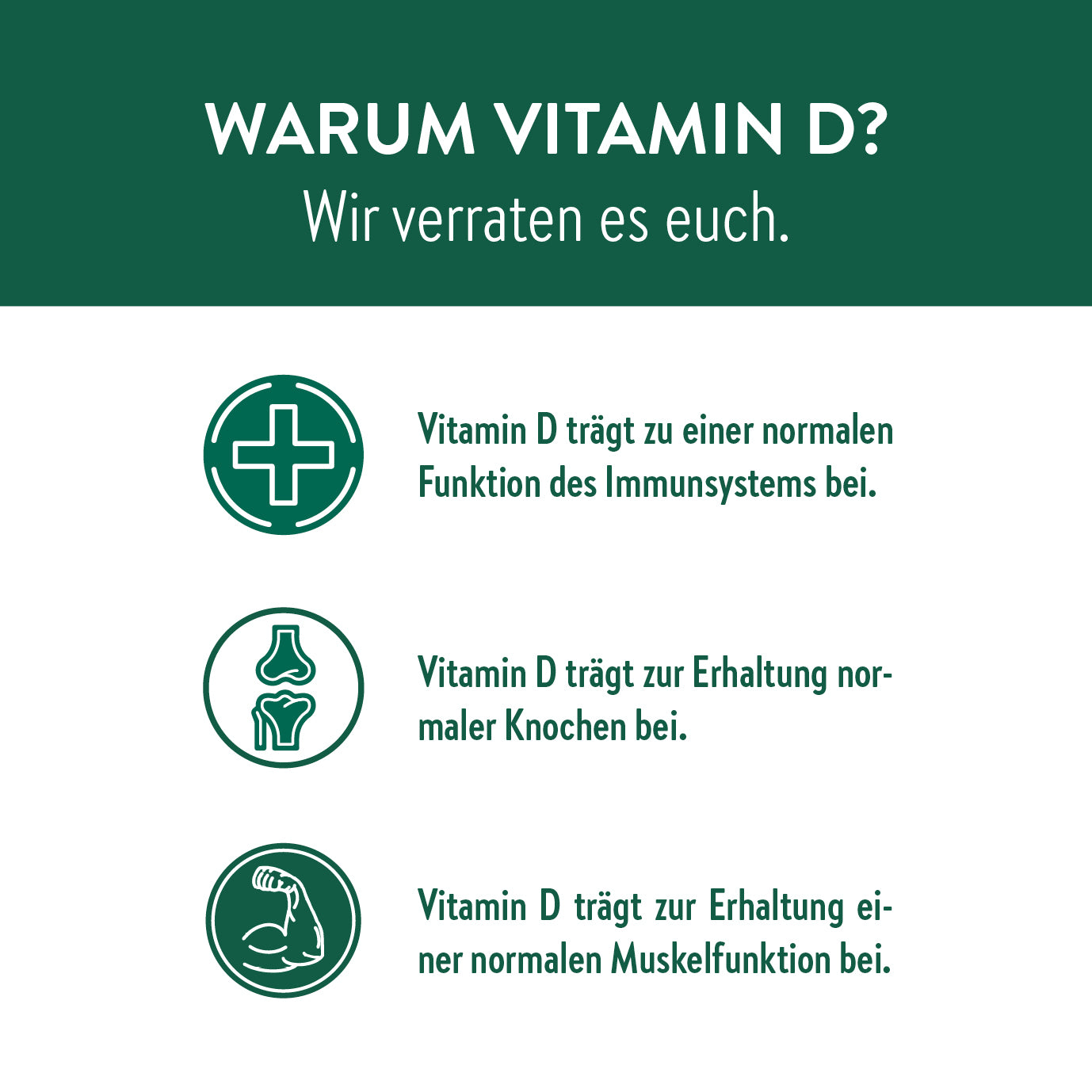 Vitamin D Kur - Flexibles Monatsabo