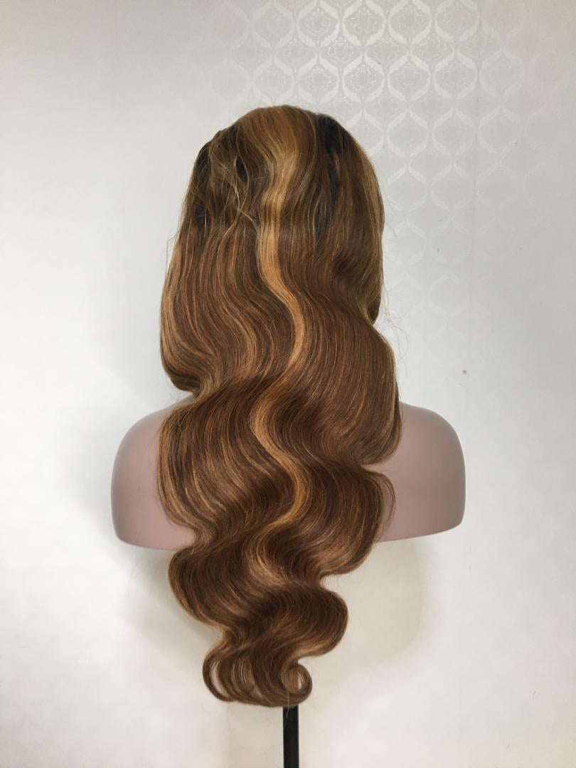 Highlight Bodywave Transparent Lace Wig